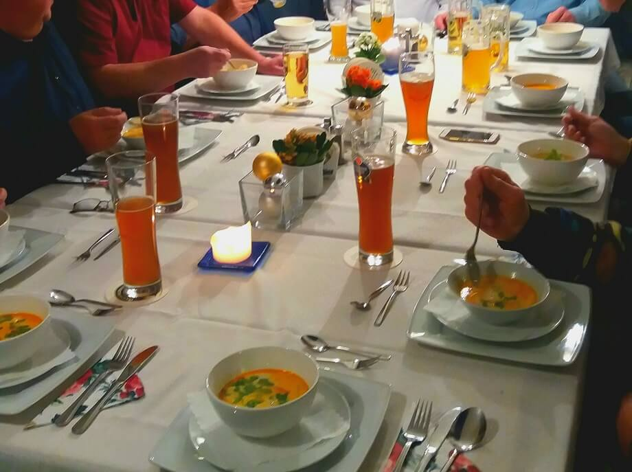 Feiern und Events - leckeres Essen zur Betriebsfeier