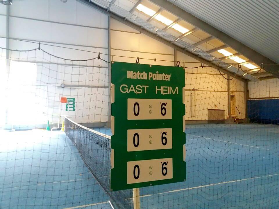 Tennis- Feiern und Events - Turniere - Halle